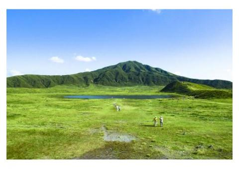 【ご近所さん歓迎】熊本県阿蘇市黒川の阿蘇山の中継