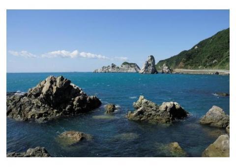 【ご近所さん歓迎】和歌山県日高郡由良町 白崎海岸の中継