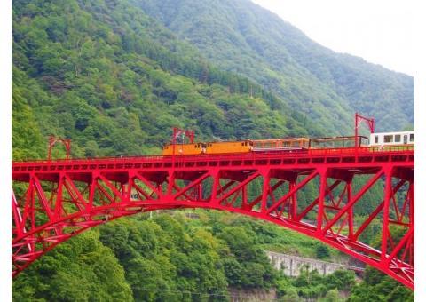 【ご近所さん歓迎】 富山県黒部市宇奈月町の黒部峡谷の中継