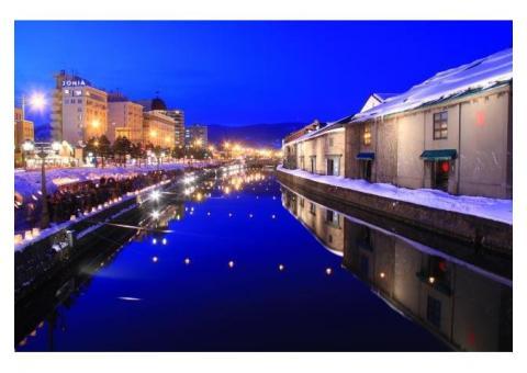 【ご近所さん歓迎】北海道小樽市港町の小樽運河の中継