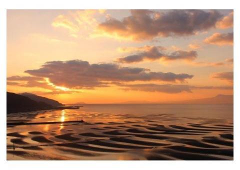 【ご近所さん歓迎】熊本県宇土下網田町の御興来海岸の中継