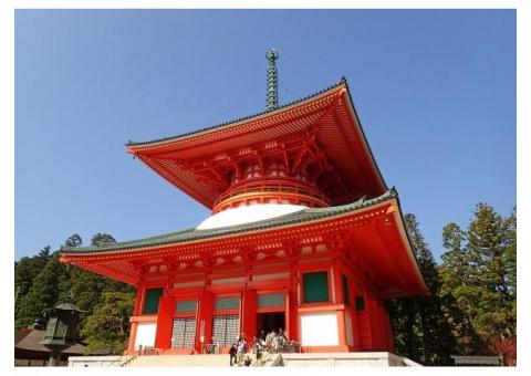 【ご近所さん歓迎】和歌山県伊都郡高野町の高野山の中継