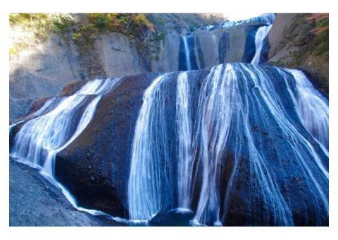 【ご近所さん歓迎】茨城県久慈郡大子町袋田の袋田の滝の中継