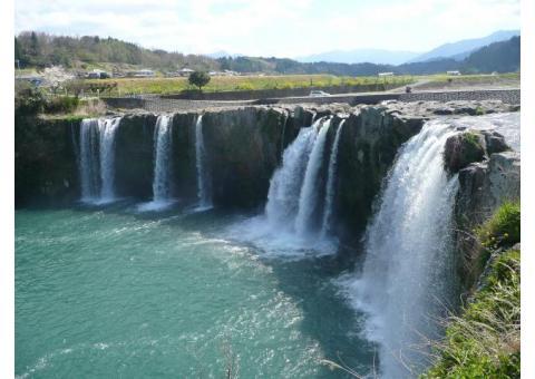 【ご近所さん歓迎】大分県豊後大野市緒方町原尻の原尻の滝の中継
