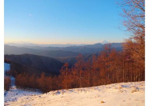 【ご近所さん歓迎】 埼玉県秩父市大滝の雲取山の中継