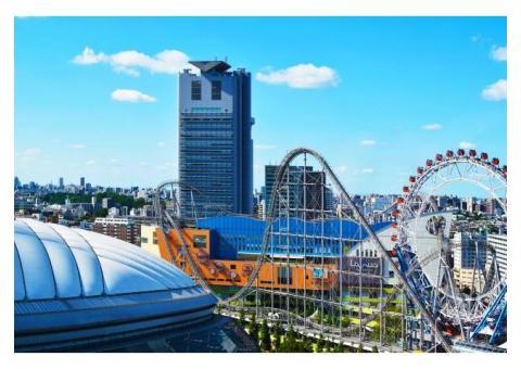 【ご近所さん歓迎】  東京都文京区後楽の東京ドームシティの体験共有
