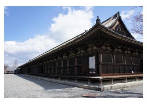 【ご近所さん歓迎】 京都府京都市東山区三十三間堂の体験共有