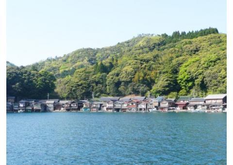 【ご近所さん歓迎】 京都府与謝郡伊根町字平田の伊根の舟屋の体験共有