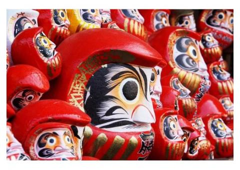 【ご近所さん歓迎】群馬県高崎市鼻高町の少林山達磨寺の体験共有
