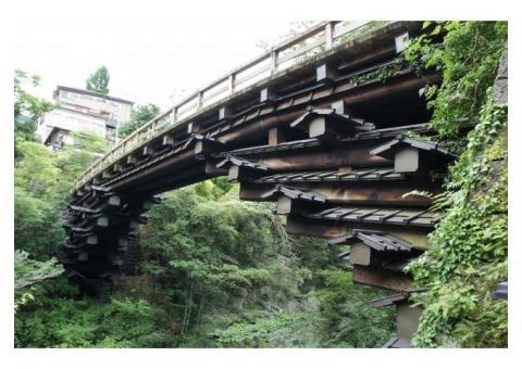 【ご近所さん歓迎】山梨県大月市猿橋町の猿橋の体験共有