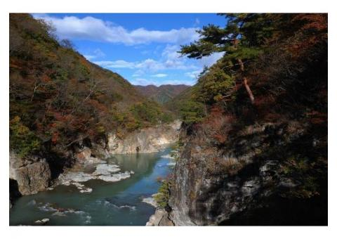 【ご近所さん歓迎】栃木県日光市藤原の龍王峡の体験共有