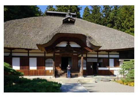 【ご近所さん歓迎】 長野県上田市別所温泉の常楽寺の体験共有