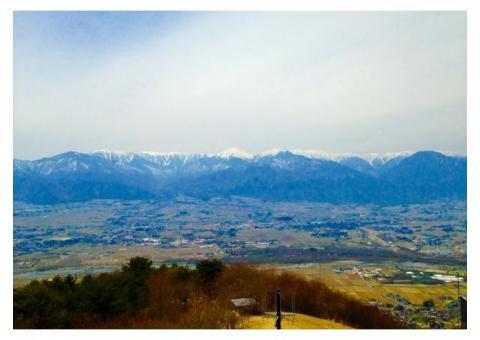 【ご近所さん歓迎】 長野県安曇野市明科光の長峰山休憩展望台の体験共有