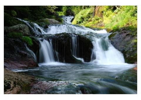 【ご近所さん歓迎】長野県茅野市豊平 のおしどりかくしの滝の体験共有