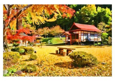 【ご近所さん歓迎】長野県北安曇郡池田町会染の長福寺の体験共有