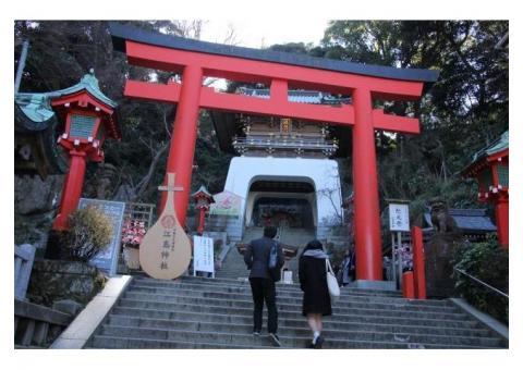【ご近所さん歓迎】 神奈川県藤沢市江の島の江島神社の体験共有