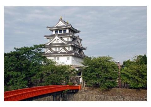 【ご近所さん歓迎】岐阜県大垣市郭町の大垣城の体験共有