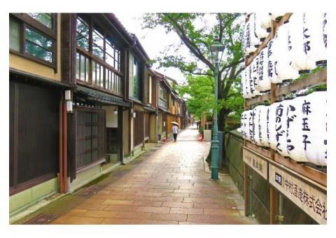 【ご近所さん歓迎】石川県金沢市主計町の主計町茶屋街 の体験共有