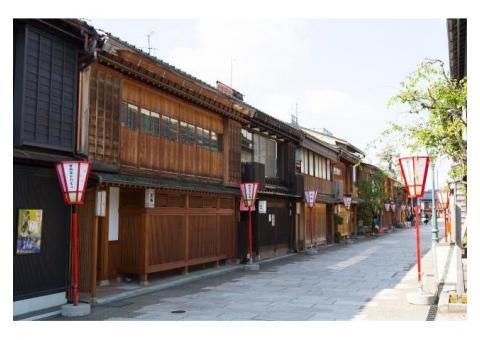 【ご近所さん歓迎】石川県金沢市野町のにし茶屋街の体験共有