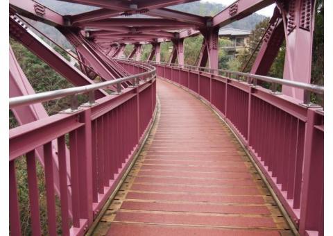 【ご近所さん歓迎】 石川県加賀市山中温泉河鹿町のあやとりはしの体験共有