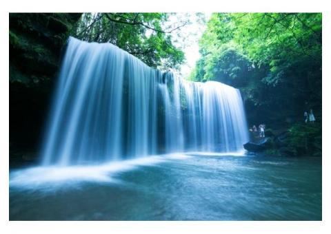 【ご近所さん歓迎】熊本県阿蘇郡小国町黒渕の鍋ヶ滝の体験共有