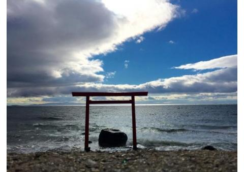 【ご近所さん歓迎】 愛知県知多郡南知多町内海小桝のつぶて浦の鳥居の体験共有