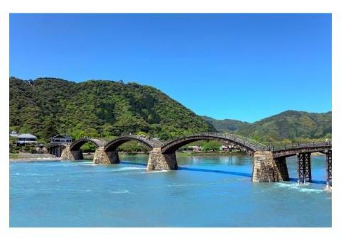 【ご近所さん歓迎】 山口県岩国市岩国の錦帯橋の体験共有