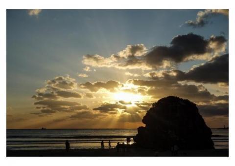 【ご近所さん歓迎】 島根県出雲市大社町杵築北稲佐の稲佐の浜の体験共有