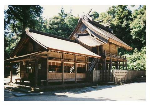 【ご近所さん歓迎】 島根県松江市大庭町の神魂神社の体験共有