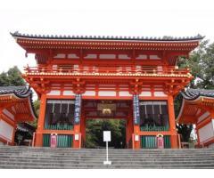 京都の八坂神社の案内