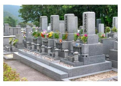 【日本全国対応可能】お墓参り代行します。リモートお参り付き(映像で確認可、その他オプションは応相談)